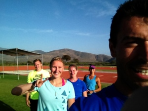My super awesome training group and my first ever #selfie, I think i need longer arms, and lighting in my fingers